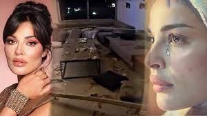 تحطم منزل نادين نجيم بالكامل ، وهذه هي حالتها الصحية بعد الاصابة !! إنفجار  بيروت - YouTube