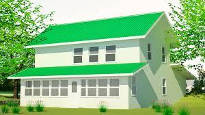 farmhouse sm rectangular story house plans floor plan simple