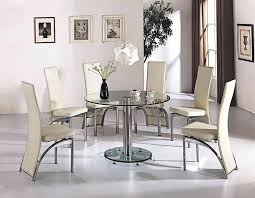 round glass table set modern amazing glass round kitchen table martini glass table decoration ideas