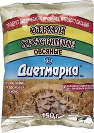 диет марка отруби хрустящие 29 ржаные 100 г