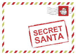 Gift Exchange Ideas Secret Santa Corporate Holiday Party Invites by  PurpleTrail.com.