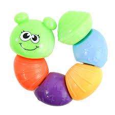 """Развивающая <b>игрушка Frog&Croc</b> """"Любознательная гусеничка ..."""