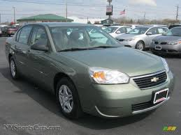 2006 Chevrolet Malibu LS Sedan in Silver Green Metallic photo #15 ...