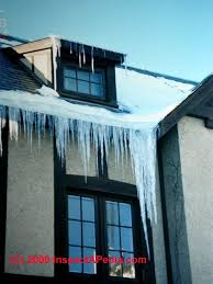 roof wires melt ice stop roof ice dam leaks use of heat tapes on roofs to prevent ice