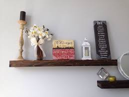 Minimal Wall mount Shelf,Handmade With Reclaimed Old Growth Wood and Iron.  www.