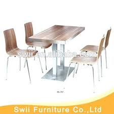 commercial dining room chairs. Exellent Dining Commercial Cafe Tables Chairs Fast Food Table Chair Set  Furniture Used And Dining Room Domainmichaelcom