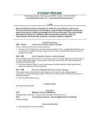 Sample College Resume Magnificent Sample Resume For Recent College Graduate New Sample Resume For