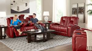 Red and black furniture Grey Kingvale Living Room Set Red Plush Reclining Sofa Set With Lighted Cup Holders Arm Rest Storage Matching Tables Facebook Black Gray Red Living Room Furniture Decorating Ideas