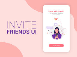 Design With Friends Invite Friends Ui By Raman Kumar On Dribbble