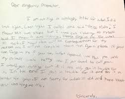 sixth grader pens adorable apology after deez nuts prank sixth grader pens adorable apology after deez nuts 911 prank call