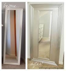 Diy Mirror Projects 25 Diy Floor Mirror Wife In Progress
