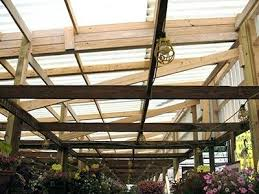 corrugated plastic roof panels interior view garden center corrugated plastic roof panels home depot