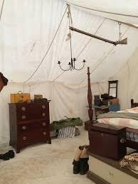 tent furniture. Reenactment Commanders Tent Interior Furniture O