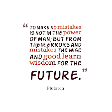 Image result for quotes about mistakes