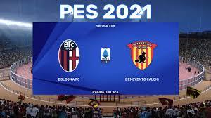 PES 2021 ⚽ Bologna vs Benevento Calcio ⚽ Serie A TIM 2020/21 ⚽ Highlights  and goals ⚽ PC gameplay - YouTube