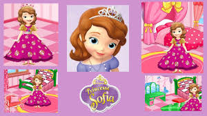 princess sofia movie games sofia the first room decoration video