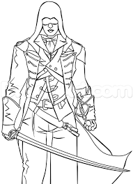 Assassin Creed Unity Coloring Pages 2019 Open Coloring Pages
