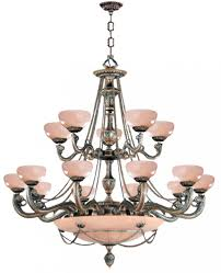 natural alabaster 20 light bronze chandelier i