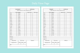 Business Day Planners Organize