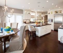 What Color Hardwood Floor With White Kitchen Cabinets oak cabinets
