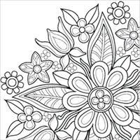 花の曼荼羅のぬりえブック Nttドコモ Dアプリレビュー