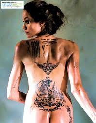 татуировки анджелины джоли фото и их значение фото знаменитостей
