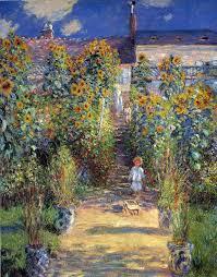 claude monet most famous paintings the artist s garden at vétheuil