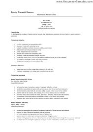 arts therapist resume   sales   therapist   lewesmrsample resume of arts therapist resume