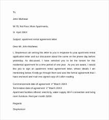 sample rental agreement letter simple letter agreement cool sample rental agreement letter template