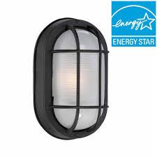 hampton bay exterior wall lantern light aged iron finish. hampton bay black outdoor led wall lantern exterior light aged iron finish l