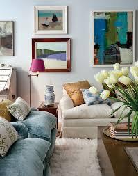Living Room Artwork Art Deco Apartment In The El Dorado Remodelaholic