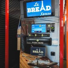 Baguette Vending Machine Sf Interesting Le Bread Xpress CLOSED 48 Photos 48 Reviews Bakeries 4875
