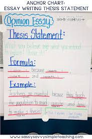 The Best Anchor Charts 5th Grade Classroom Writing How To