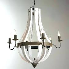 distressed white wood chandelier have to do with cream woo