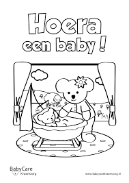 Kleurplaat Thema Baby Kraamtijdgeboorte Baby Pinterest Baby