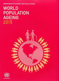 World Population Ageing 2015 Wall Chart Amazon Co Uk