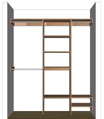 ideas closet corner shelves design