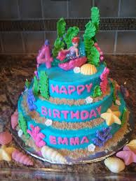 Ariel Cake Decorations Similiar Little Mermaid Birthday Cake Decorations Keywords
