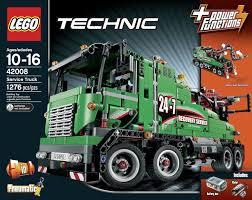 Amazon Com Lego Technic 42008 Service Truck Toys Games