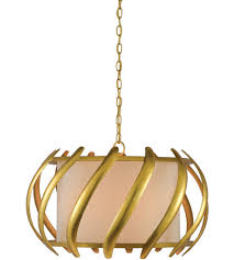 currey company 9000 0380 trephine 3 light 26 inch contemporary gold leaf and painted