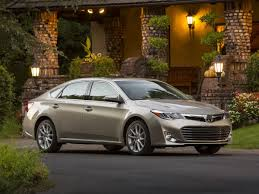 Toyota Avalon technical specifications and fuel economy