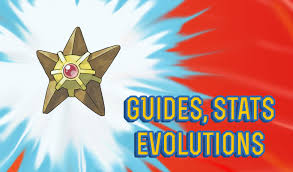 Pokemon Lets Go Staryu Guide Stats Locations Evolutions
