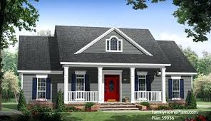 small country house plans. House Plans Front Porch Open On Small Country Plan By Family Home H