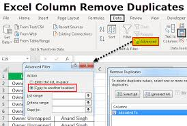 Duplicate Chart Excel Remove Duplicates From Excel Column Top 3 Methods With