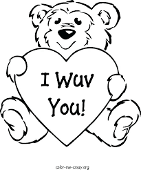 Free Valentines Day Coloring Pages Valentine Coloring Pages Free