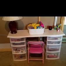 Custom Furniture Plans. Kids HomeworkDesk With StorageDesk ...