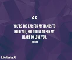 Love Distance Quotes