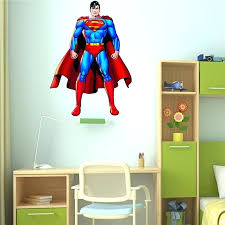 superman wall decals superman wall stickers decor decal vinyl room art comics decals superhero wall superman wall decals canada