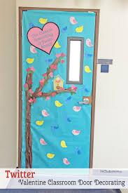 classroom door. Twitter Themed Classroom Door - Featured In 27 Valentine\u0027s Day Decorating Ideas {OneCreativeMommy :