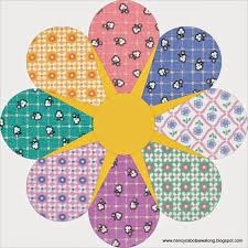 43 best Nancy Cabot, Laura Wheeler and Ruby McKim quilts images on ... & Moore About Nancy: Star Flower quilt block Adamdwight.com